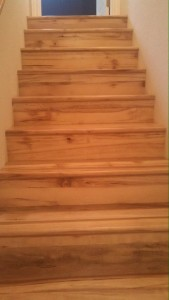 wood staircase construction